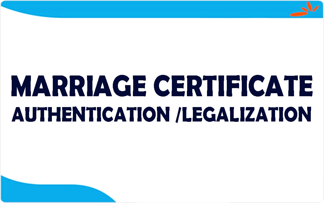 WHAT IS THE IMPORTANCE OF LEGALIZATION OF MARRIAGE CERTIFICATE IN UK?